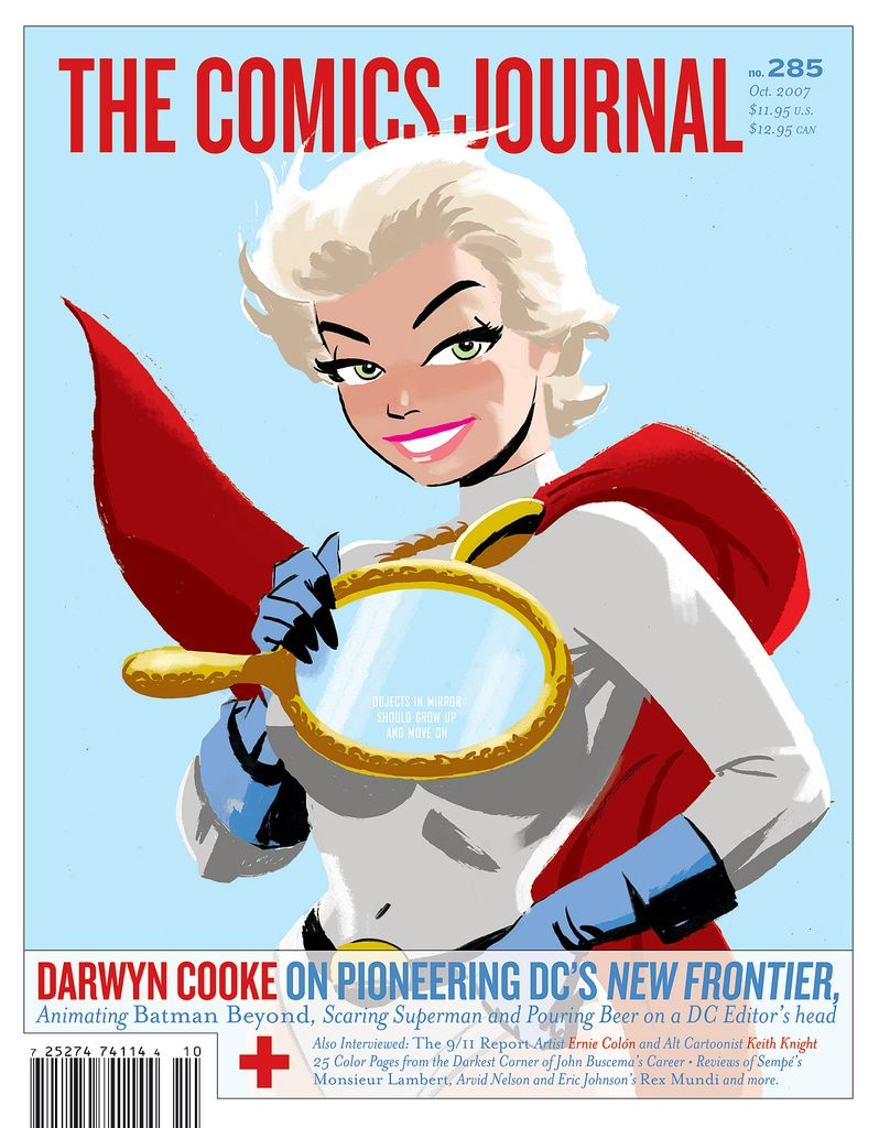 The Comics Journal #285 – Darwyn Cooke cover and interview