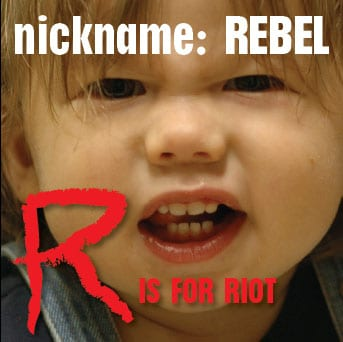 nickname: Rebel – R is for Riot album is done – RPM Challenge Success