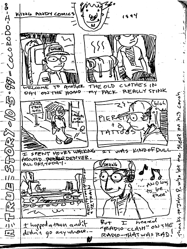 The Stupid Pages 30: King Andy Comics