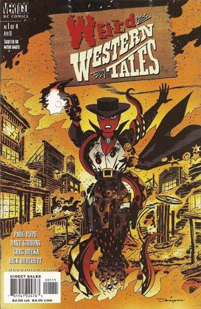 Weird Wester Tales 1 Cover by Darwyn Cooke