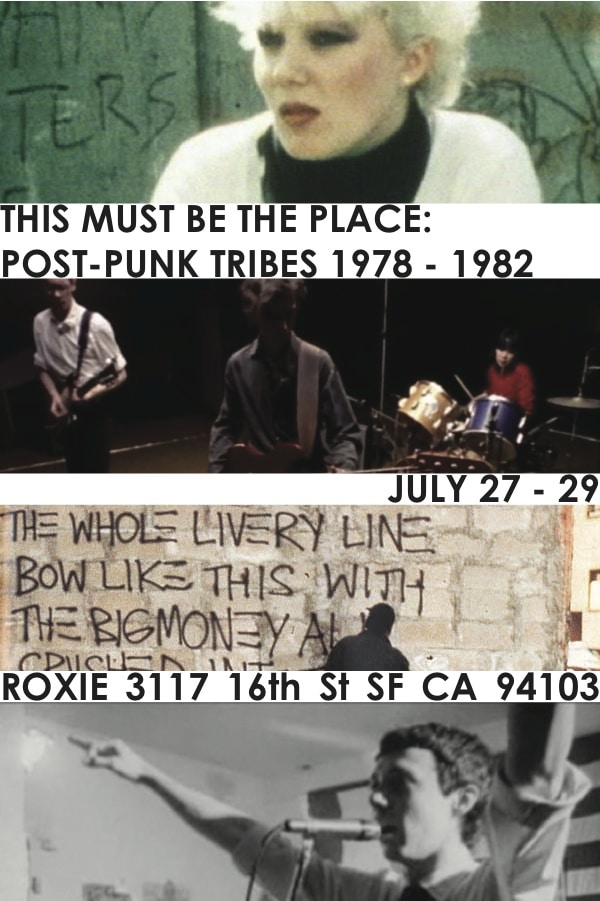 Post Punk Film Fest at The Roxie This Weekend