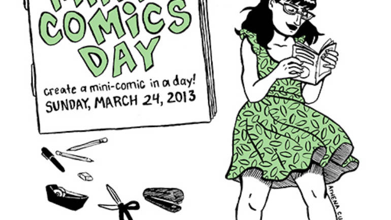 Today is Mini-Comics Day
