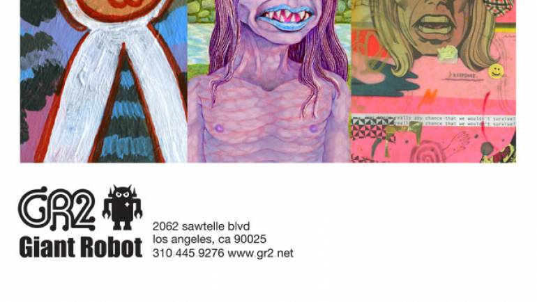 Facial Recognition – James Kochalka, Matt Furie and Mark Todd at GR2: Apr 6 – Apr 24