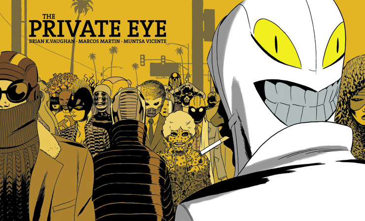 Brian K. Vaughan & Marcos Martin Deliver The Private Eye