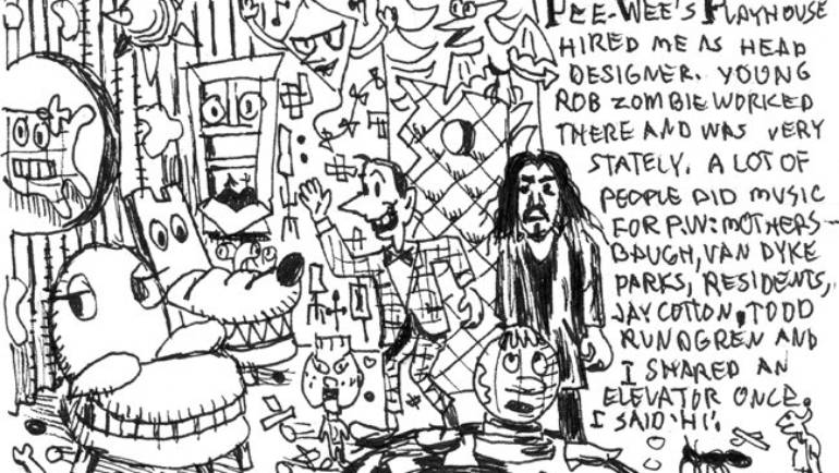 Gary Panter New York Stories