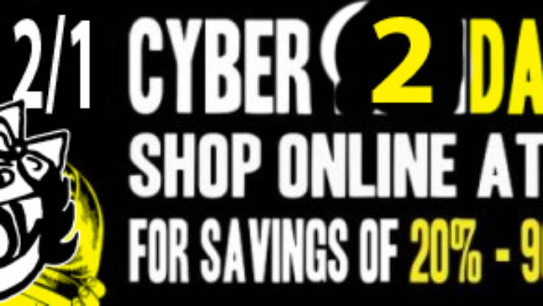 Wow Cool 2-Day Cyber Sale