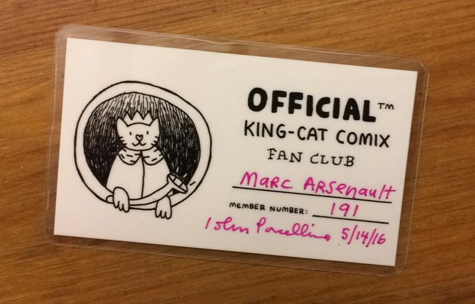 Join the King-Cat Comix Fan Club