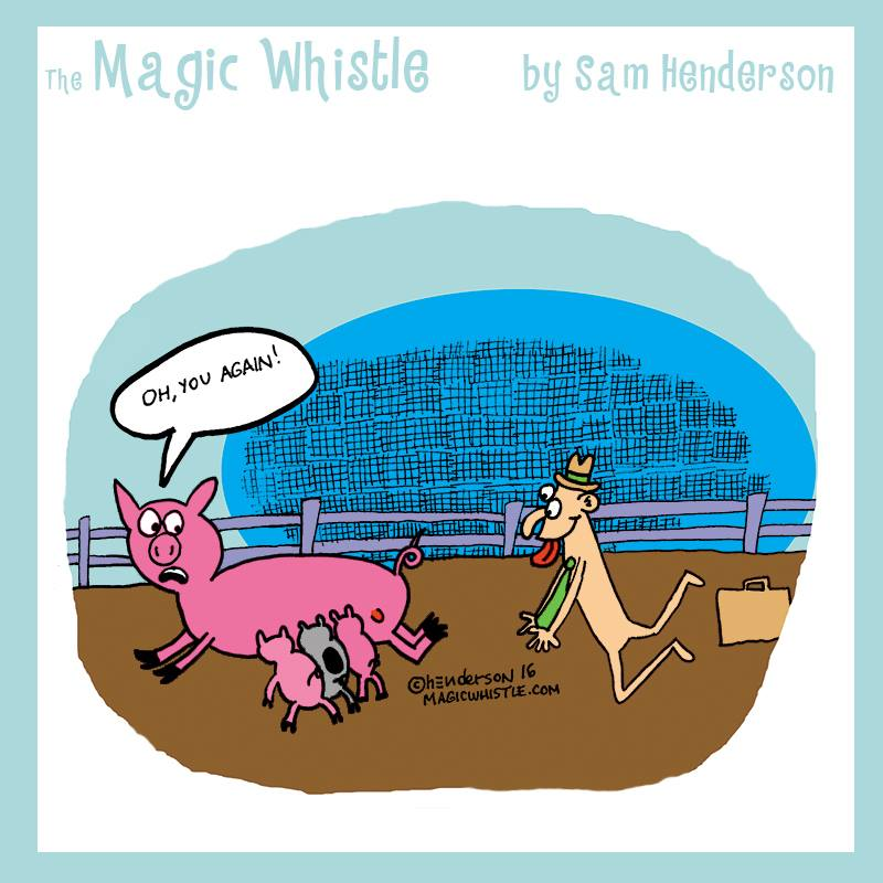 The Magic Whistle – Oh, You Again