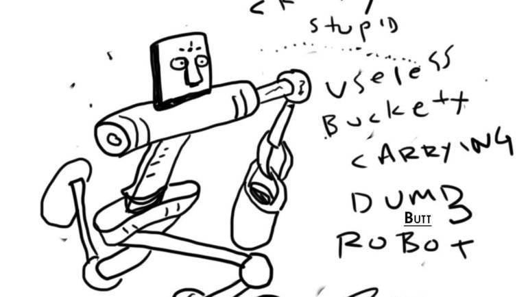 The Stupid Pages 36: Bucket Robot