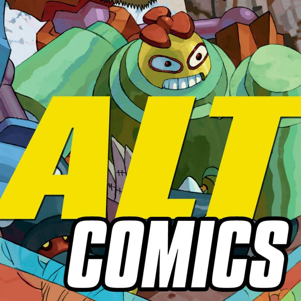altcomics podcast trailer