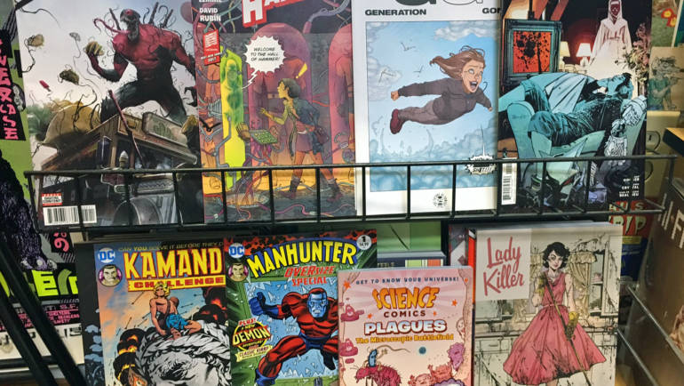 New Books at Wow Cool August 23 2017