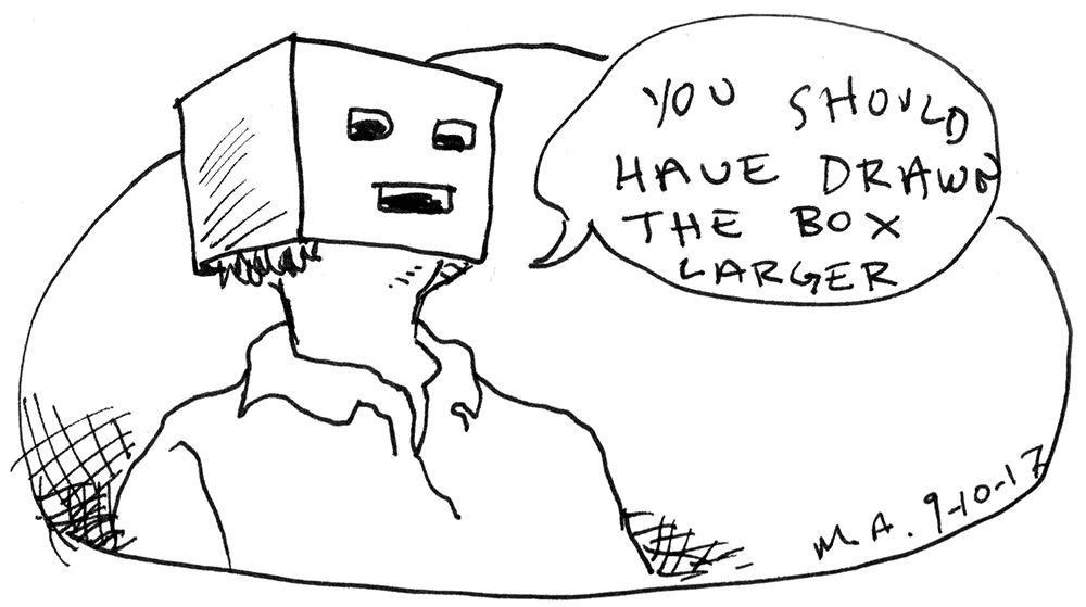 the stupid pages 41 you should have drawn the box larger wow cool