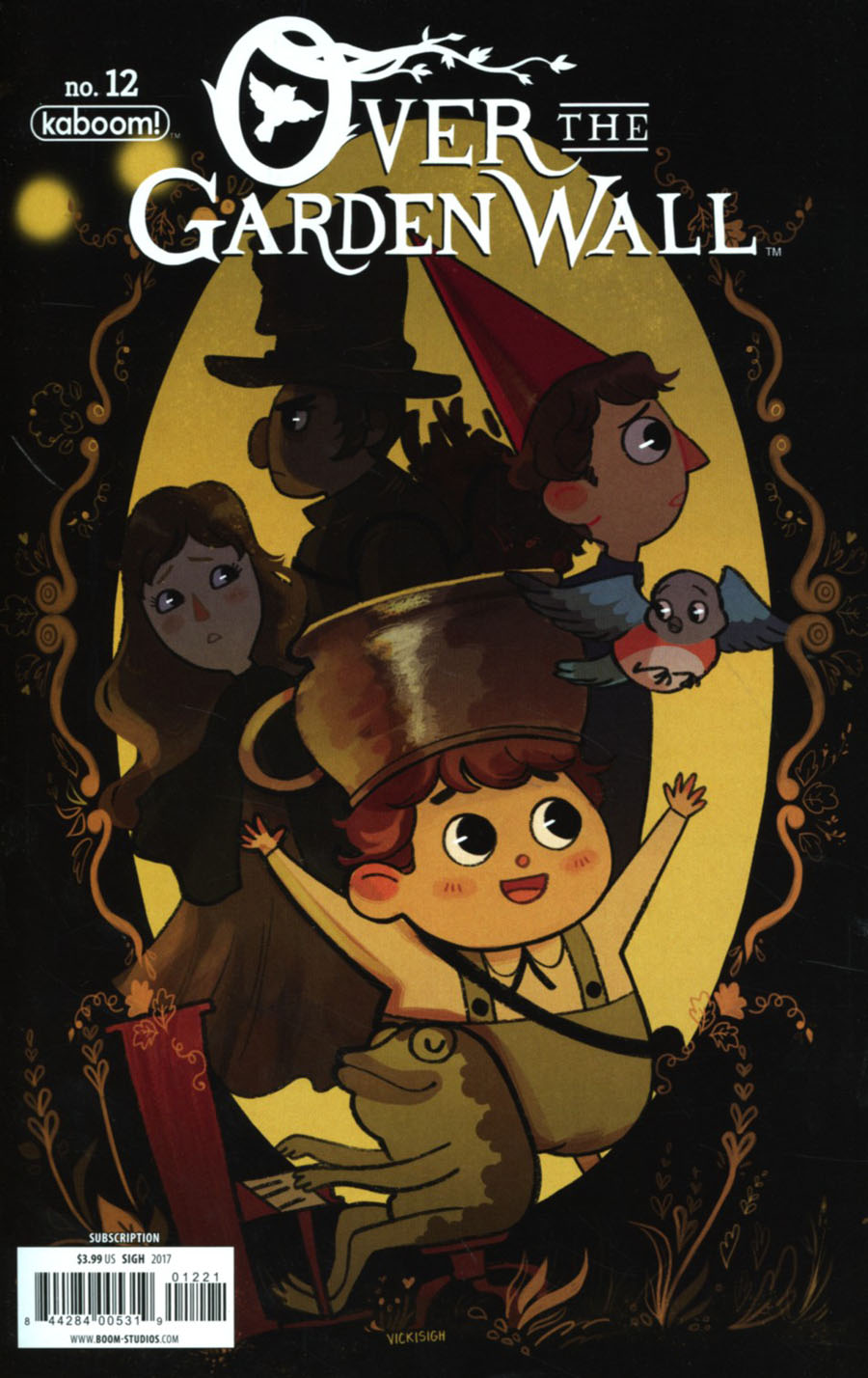 Over the Garden Wall #12 Variant   Wow Cool