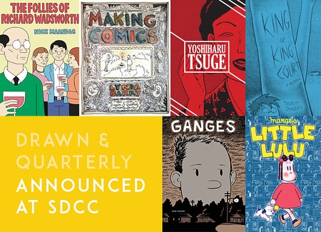 D+Q announces 2019 releases at SDCC