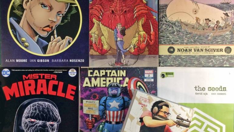 Wow Cool Round-Up: New Books and Comics — August 3, 2018