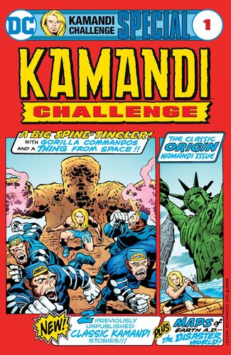 The Kamandi Challenge Special cover