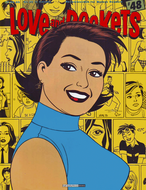 Love and Rockets 48 cover art